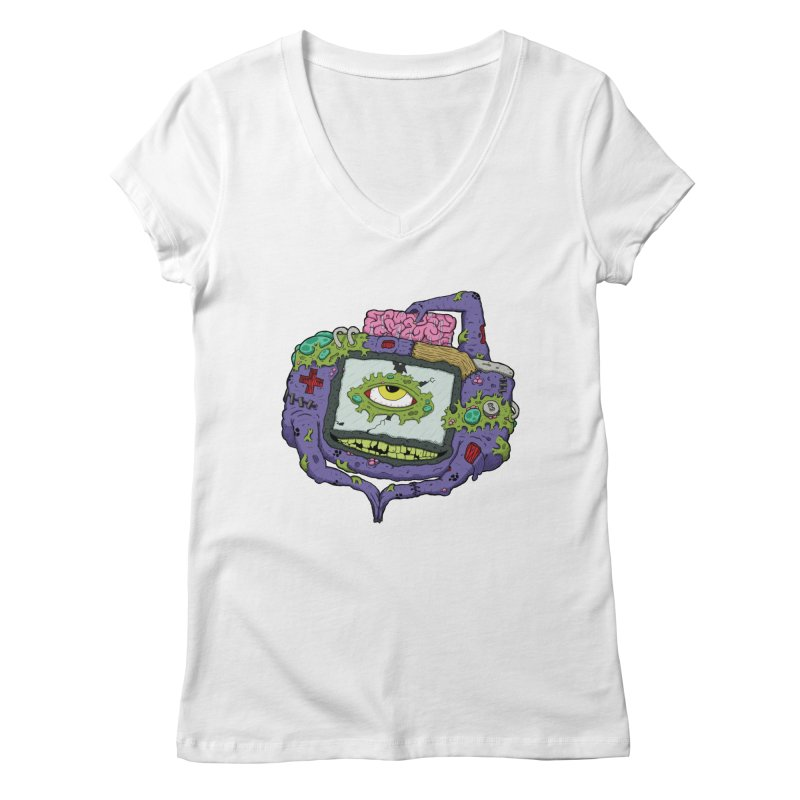 Controller Freaks - G4ME-B0Y-A Class Women's Regular V-Neck by Mystic Soda