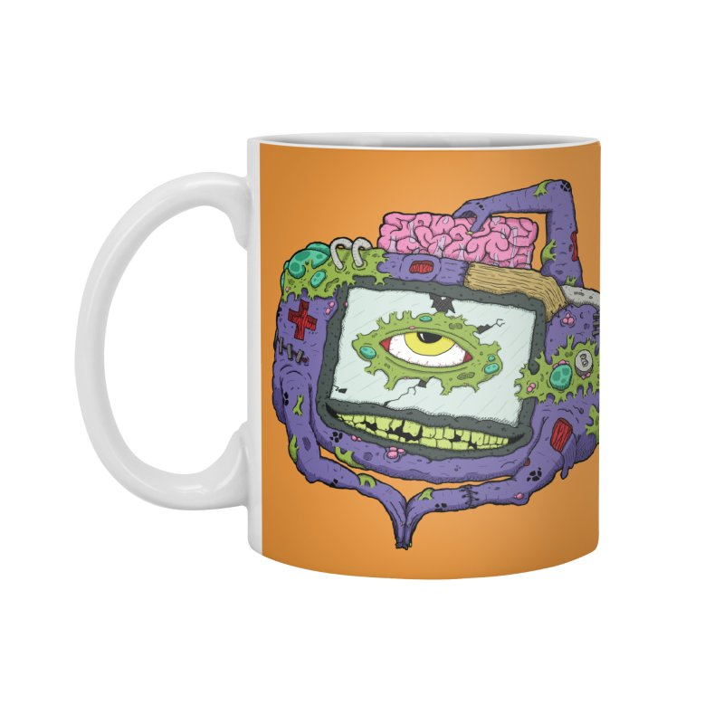 Controller Freaks - GBA Accessories Mug by Mystic Soda Shoppe
