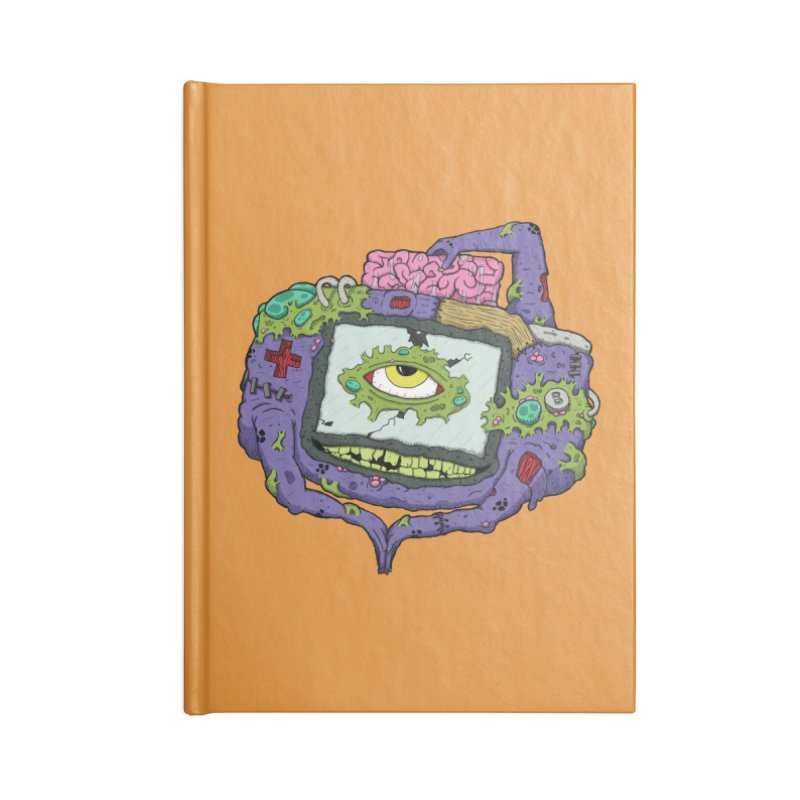 Controller Freaks - GBA Accessories Notebook by Mystic Soda Shoppe