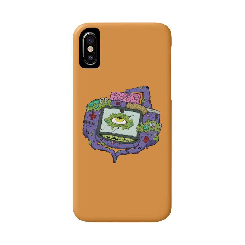 Controller Freaks - GBA Accessories Phone Case by Mystic Soda Shoppe