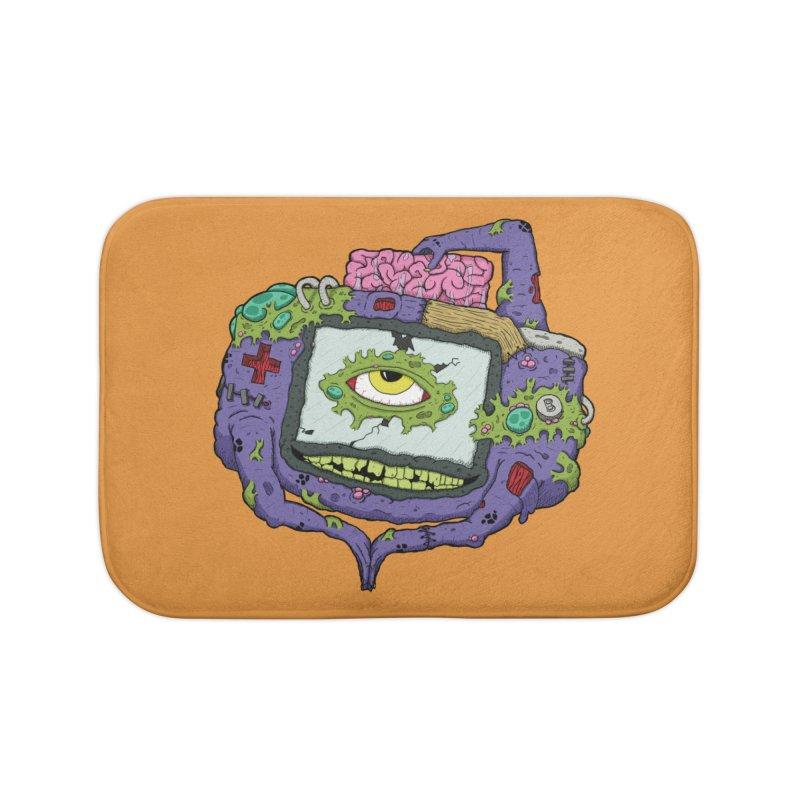 Controller Freaks - GBA Home Bath Mat by Mystic Soda Shoppe