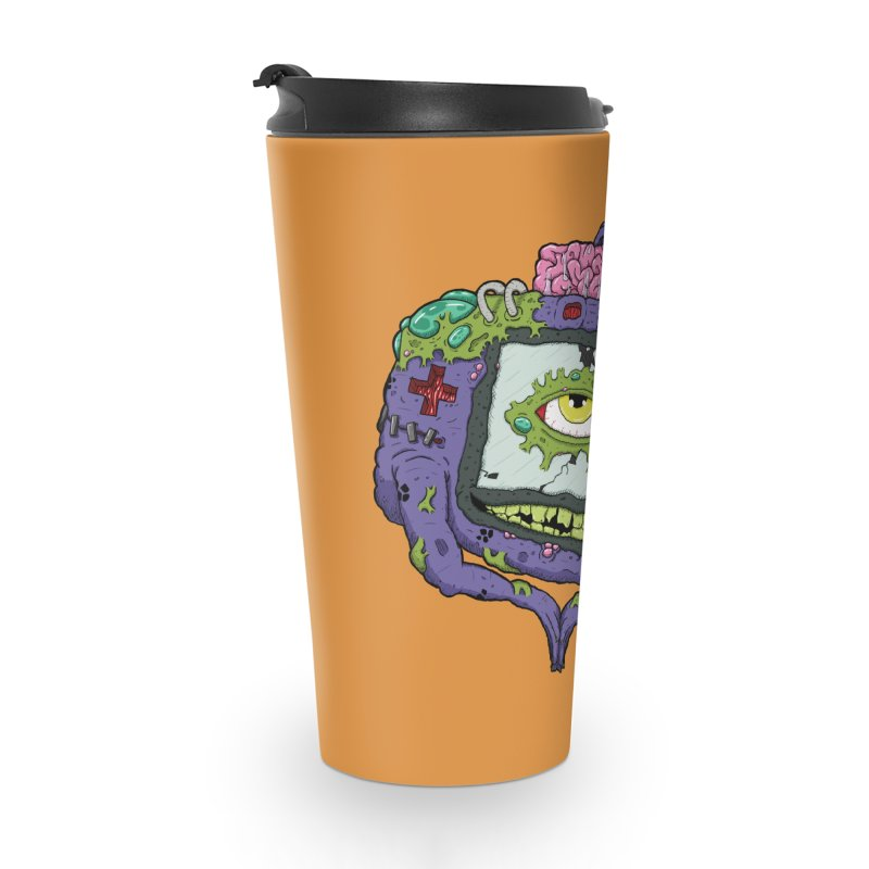 Controller Freaks - G4ME-B0Y-A Class Accessories Travel Mug by Mystic Soda