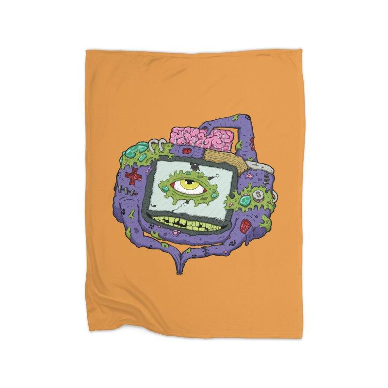 Controller Freaks - G4ME-B0Y-A Class Home Fleece Blanket Blanket by Mystic Soda