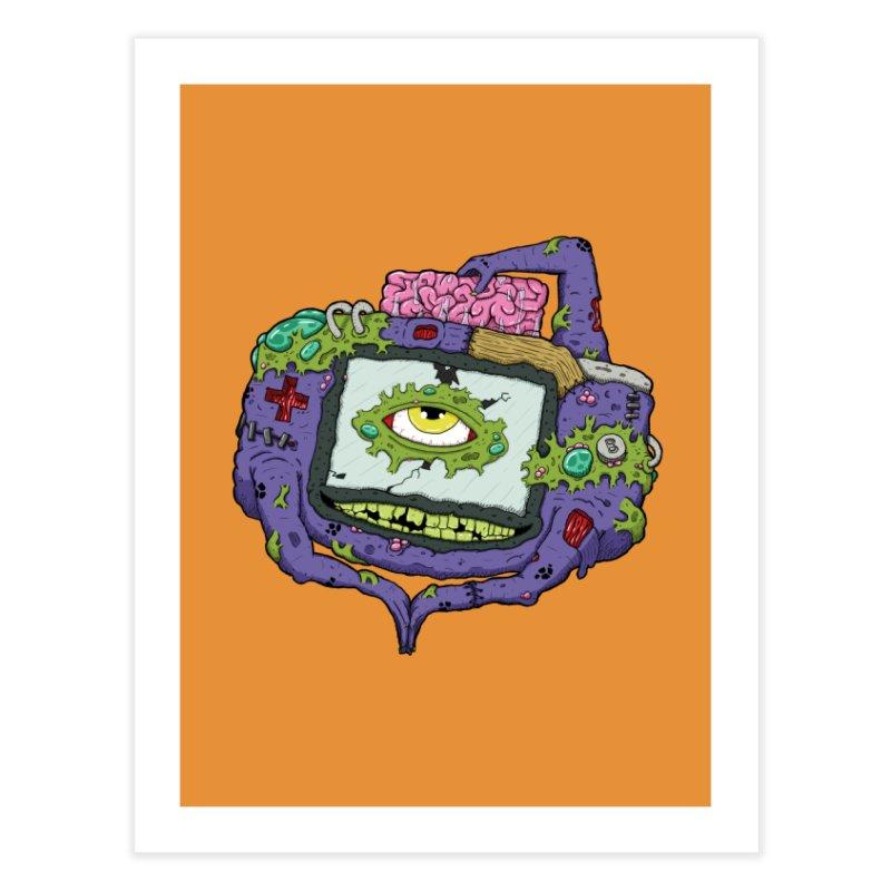 Controller Freaks - G4ME-B0Y-A Class Home Fine Art Print by Mystic Soda