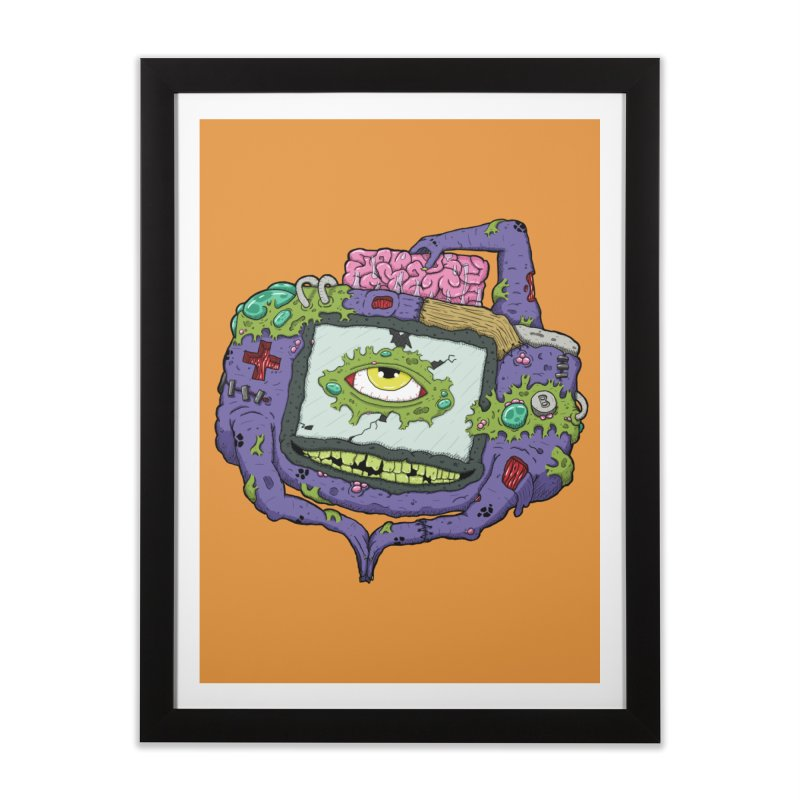 Controller Freaks - G4ME-B0Y-A Class Home Framed Fine Art Print by Mystic Soda