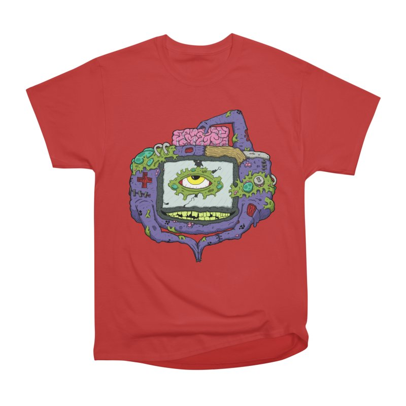 Controller Freak - GBA Men's Classic T-Shirt by Mystic Soda Shoppe