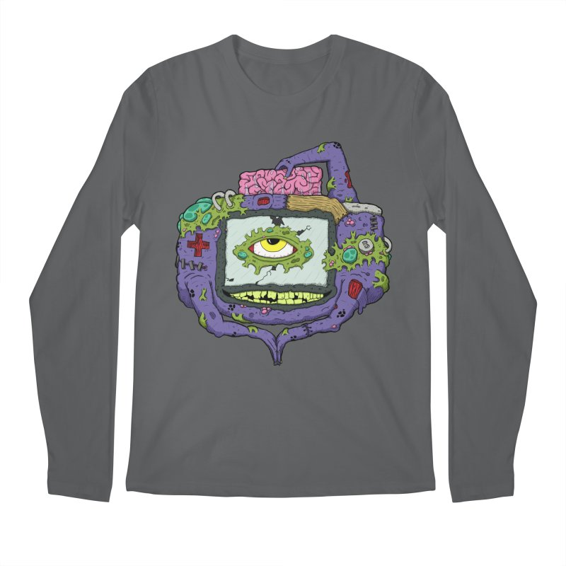 Controller Freak - GBA Men's Longsleeve T-Shirt by Mystic Soda Shoppe