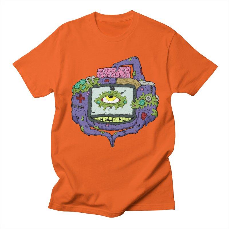 Controller Freak - GBA Men's T-shirt by Mystic Soda Shoppe