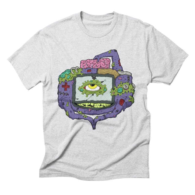 Controller Freak - GBA Men's Triblend T-shirt by Mystic Soda Shoppe