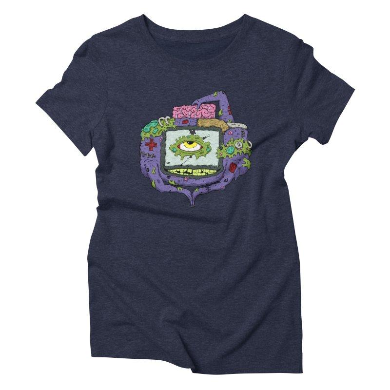 Controller Freak - GBA Women's Triblend T-shirt by Mystic Soda Shoppe