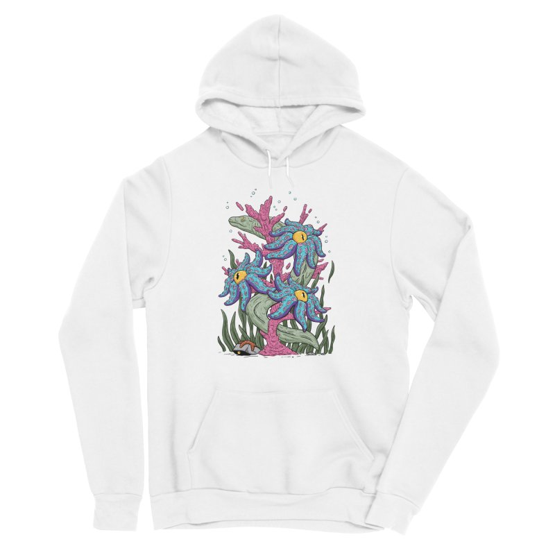 Coral Blooms Men's Pullover Hoody by Mystic Soda