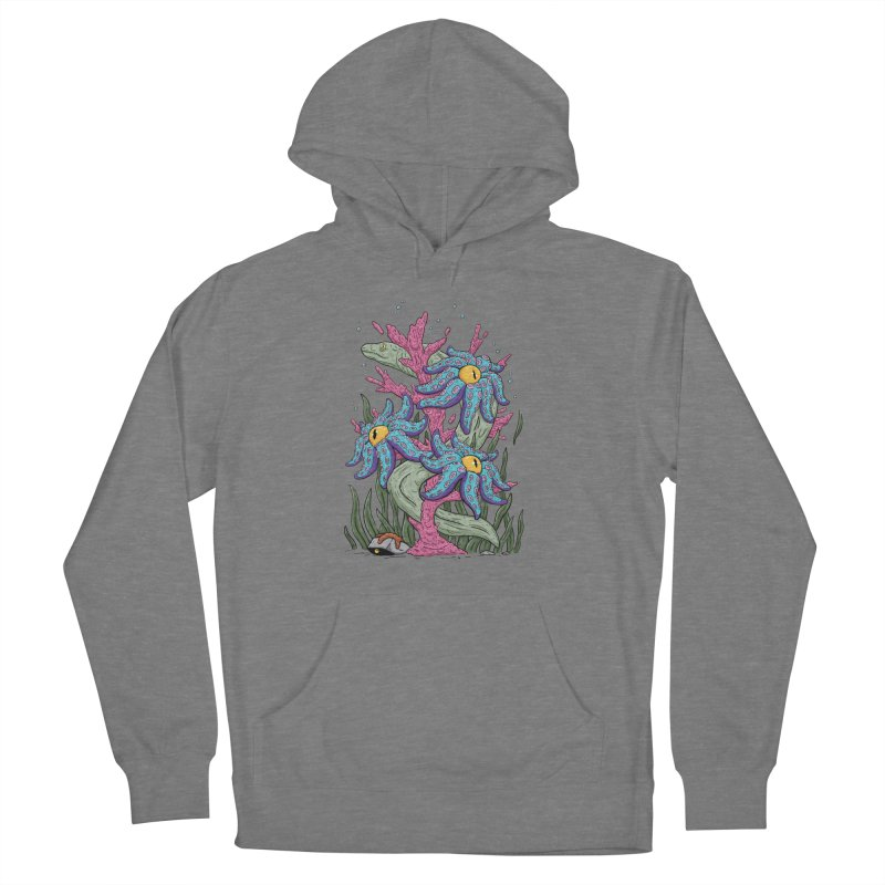 Coral Blooms Women's Pullover Hoody by Mystic Soda