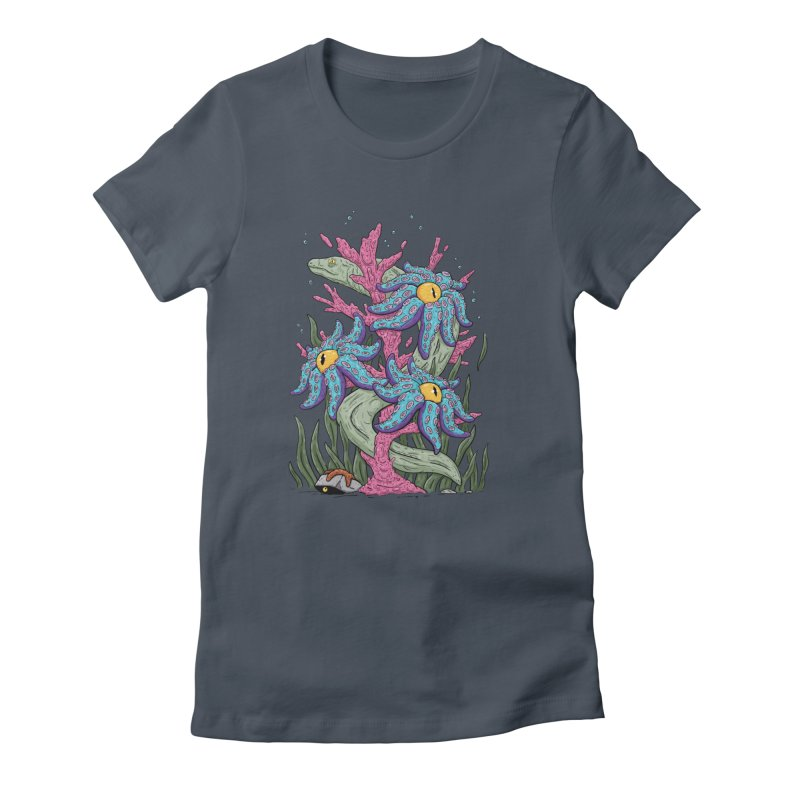 Coral Blooms Women's T-Shirt by Mystic Soda