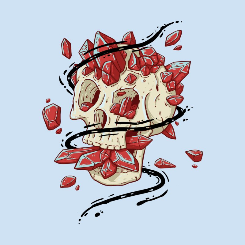 Crystal Skull Women's T-Shirt by Mystic Soda