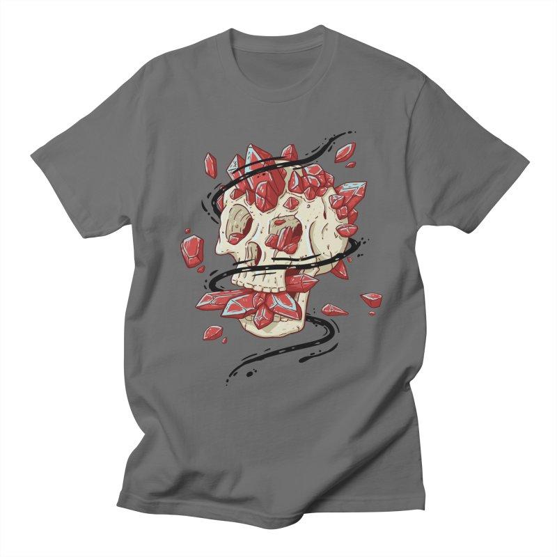Crystal Skull Men's T-Shirt by Mystic Soda