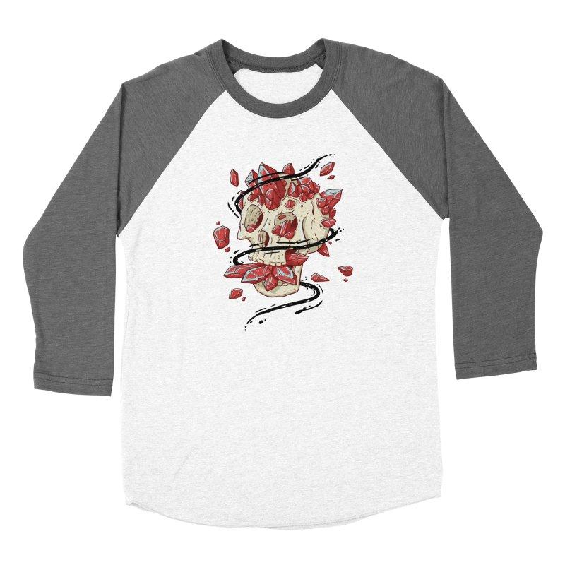 Crystal Skull Women's Longsleeve T-Shirt by Mystic Soda