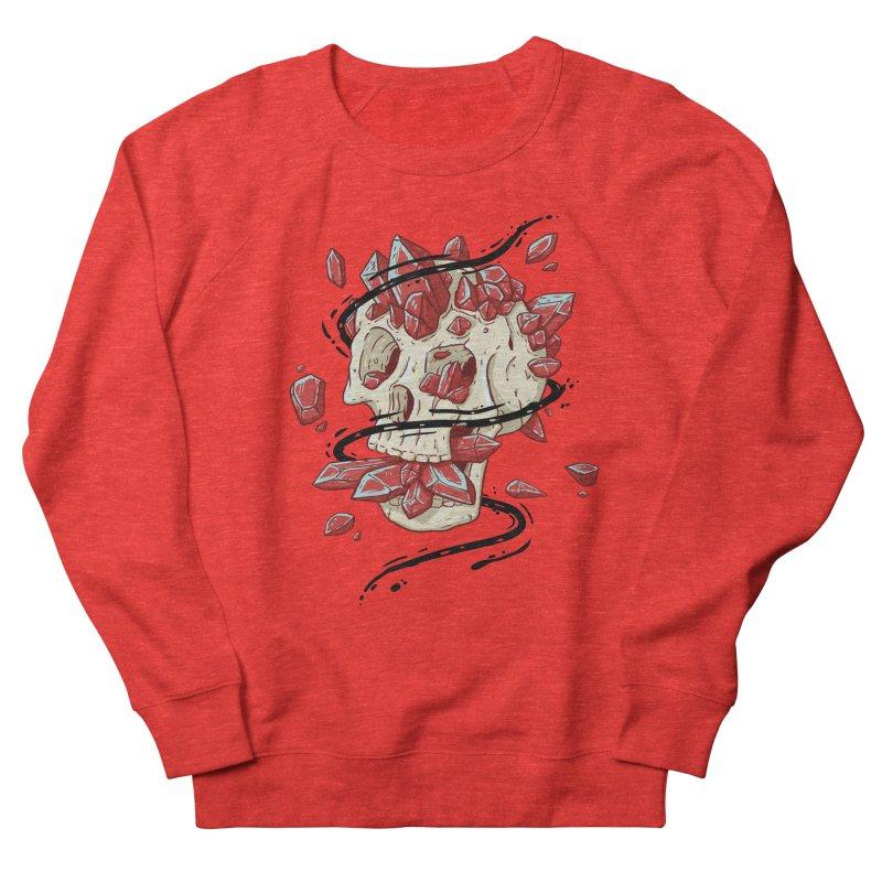 Crystal Skull Women's Sweatshirt by Mystic Soda