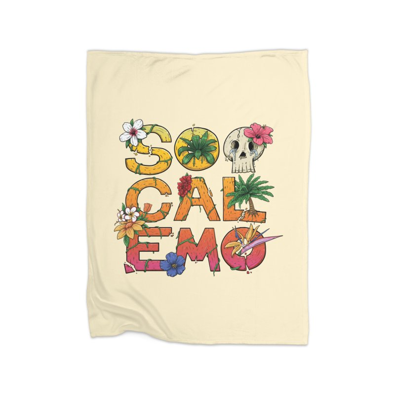 SoCalEmo Home Blanket by Mystic Soda