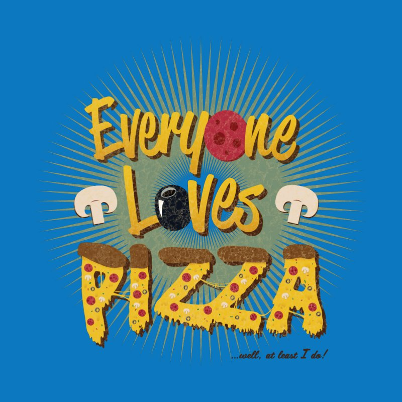 Everyone Loves Pizza Men's Tank by Mystic Soda Shoppe