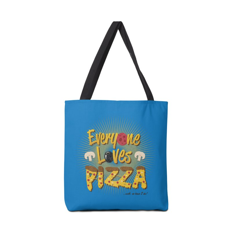 Everyone Loves Pizza Accessories Tote Bag Bag by Mystic Soda