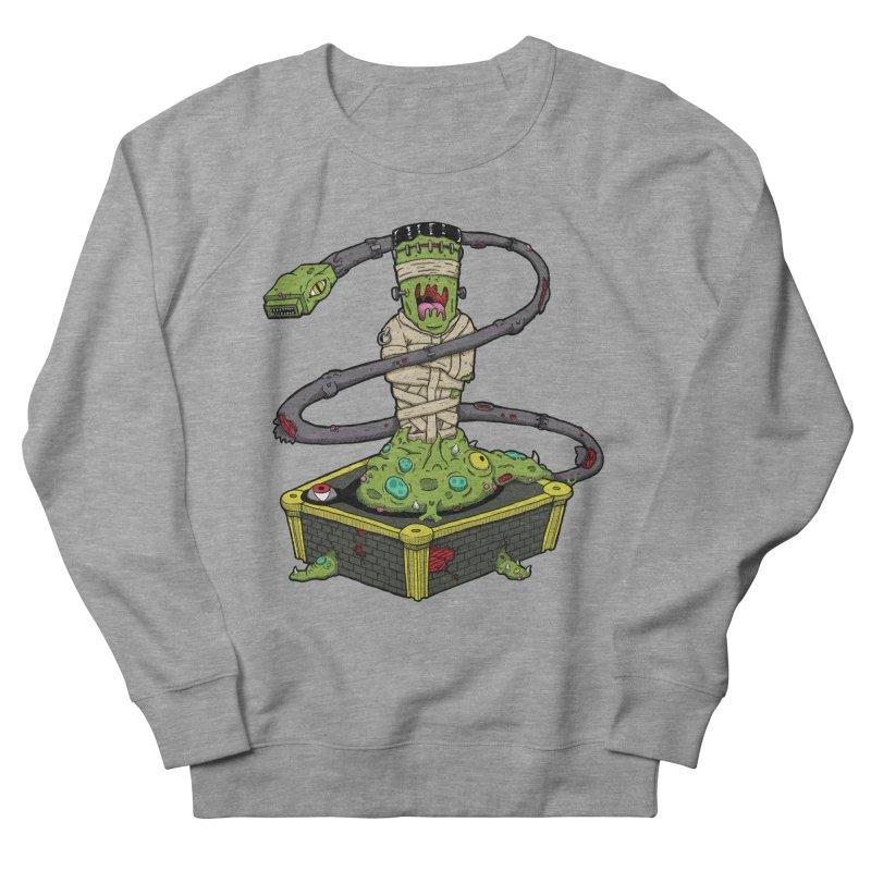 Controller Freaks - The Atari Men's French Terry Sweatshirt by Mystic Soda Shoppe