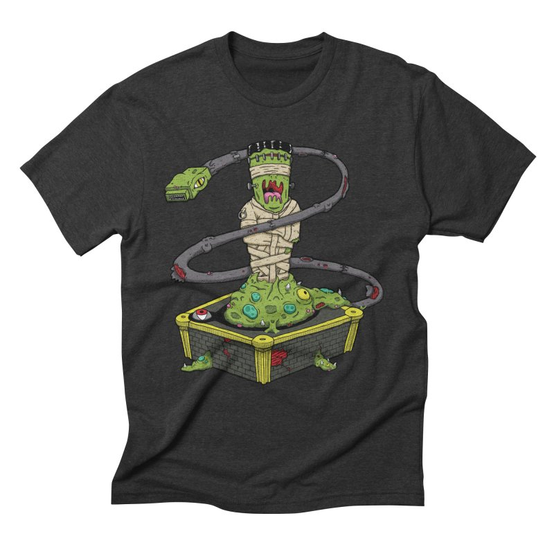 Controller Freaks - The Atari Men's Triblend T-Shirt by Mystic Soda Shoppe