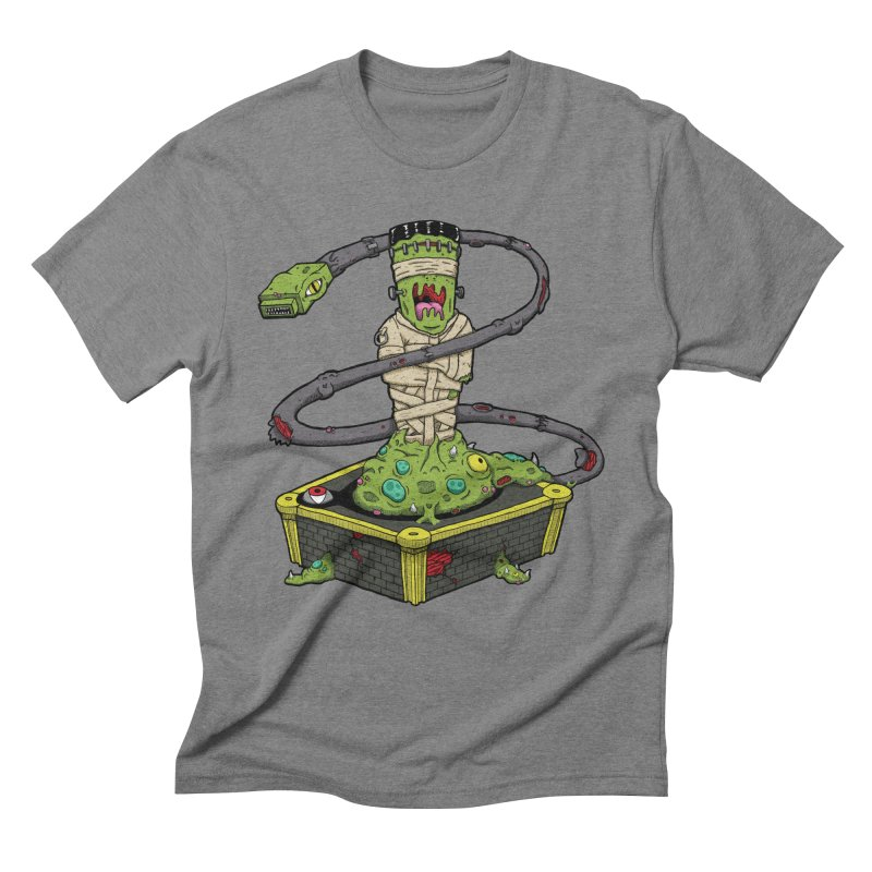 Controller Freaks - Subject 4T4R1 Men's Triblend T-Shirt by Mystic Soda