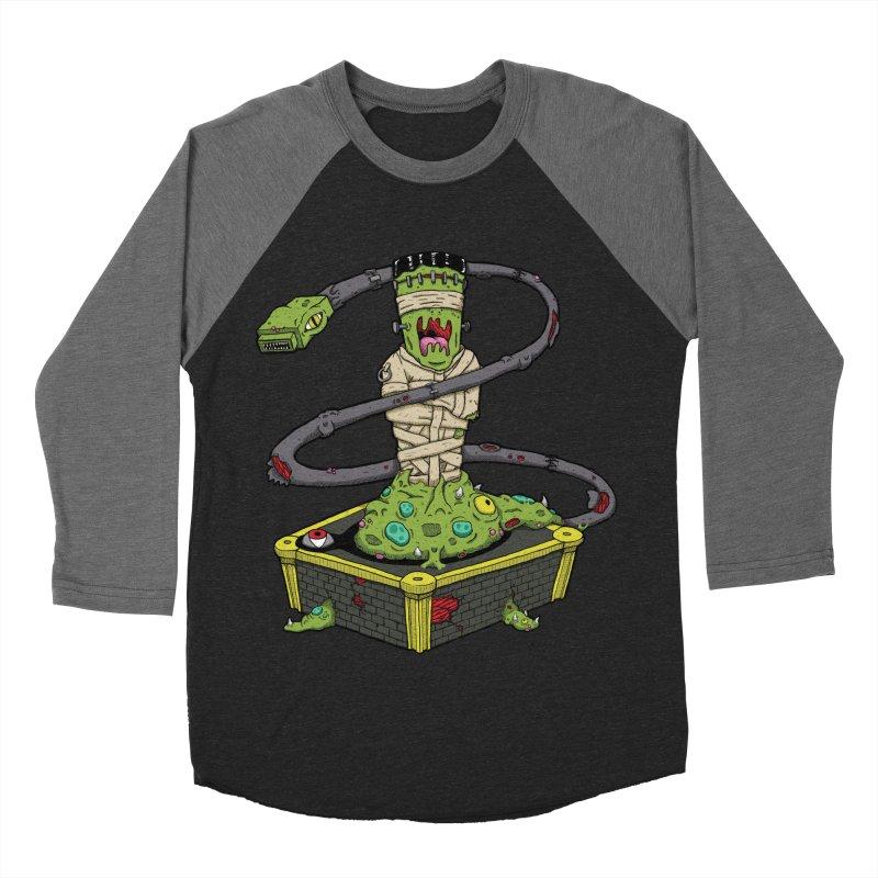 Controller Freaks - The Atari Women's Baseball Triblend T-Shirt by Mystic Soda Shoppe