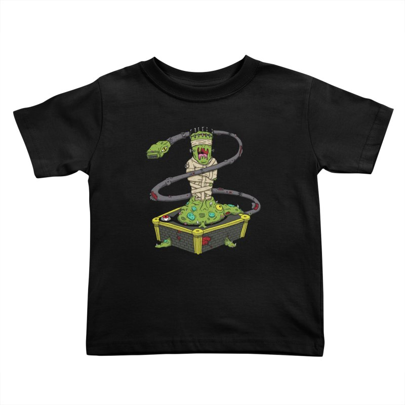 Controller Freaks - Subject 4T4R1 Kids Toddler T-Shirt by Mystic Soda