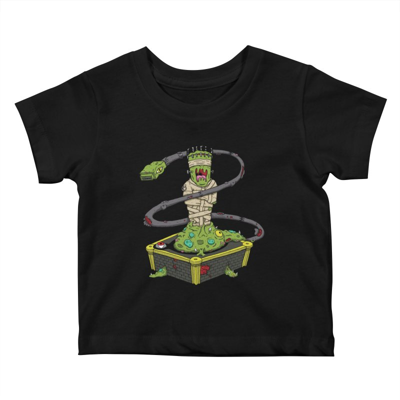 Controller Freaks - Subject 4T4R1 Kids Baby T-Shirt by Mystic Soda