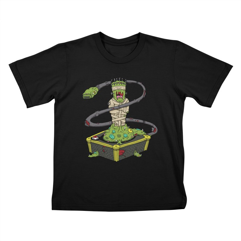 Controller Freaks - Subject 4T4R1 Kids T-Shirt by Mystic Soda