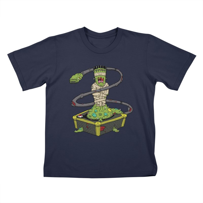 Controller Freaks - Subject 4T4R1 Kids T-Shirt by Mystic Soda