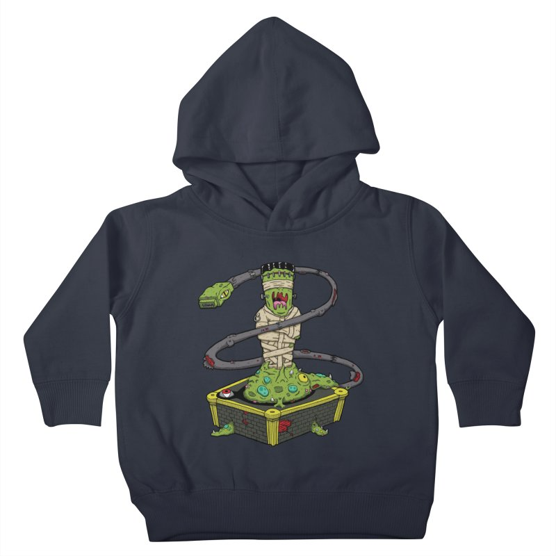 Controller Freaks - The Atari Kids Toddler Pullover Hoody by Mystic Soda Shoppe