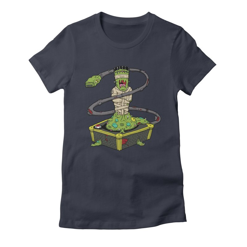 Controller Freaks - The Atari Women's Fitted T-Shirt by Mystic Soda Shoppe