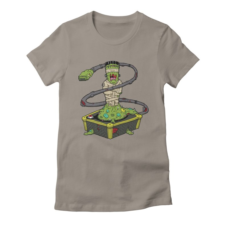 Controller Freaks - Subject 4T4R1 Women's Fitted T-Shirt by Mystic Soda