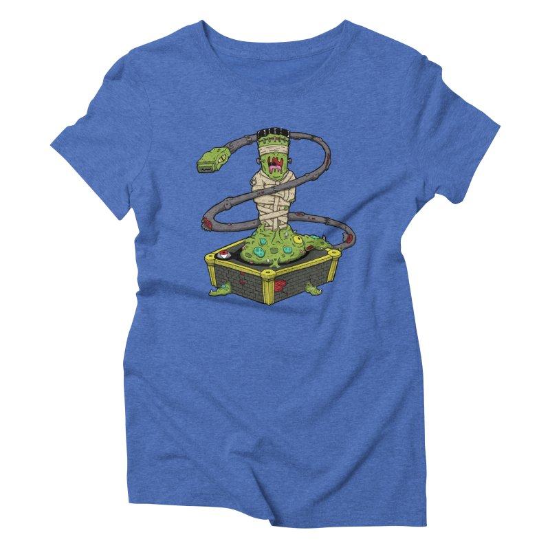 Controller Freaks - Subject 4T4R1 Women's Triblend T-Shirt by Mystic Soda
