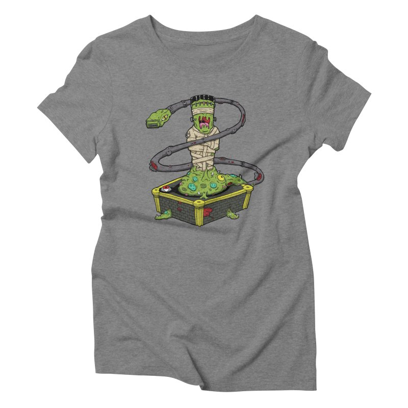 Controller Freaks - The Atari Women's Triblend T-Shirt by Mystic Soda Shoppe
