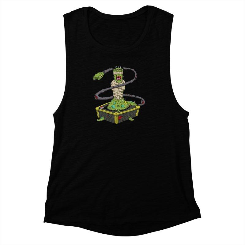 Controller Freaks - Subject 4T4R1 Women's Muscle Tank by Mystic Soda