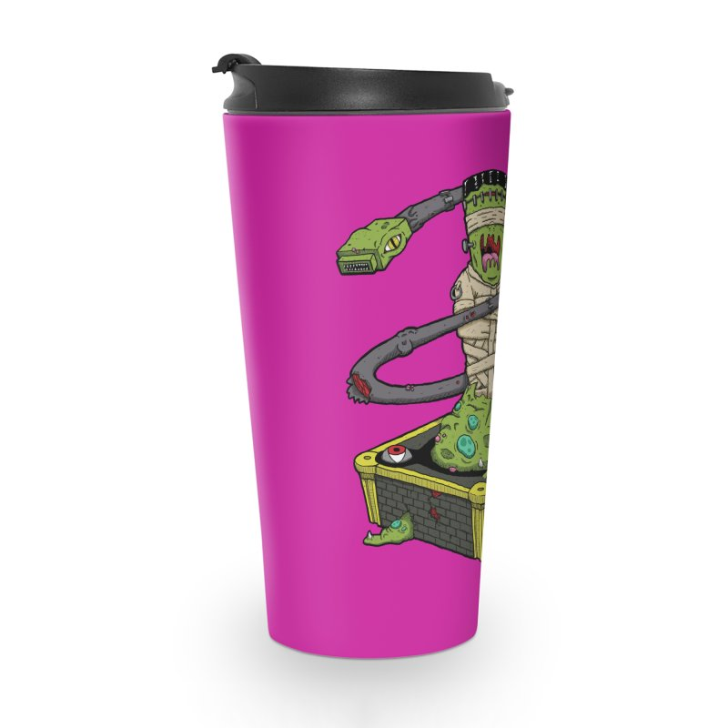 Controller Freaks - Subject 4T4R1 Accessories Travel Mug by Mystic Soda