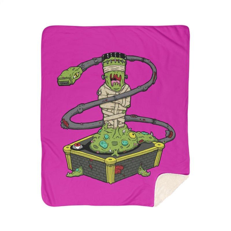 Controller Freaks - Subject 4T4R1 Home Sherpa Blanket Blanket by Mystic Soda