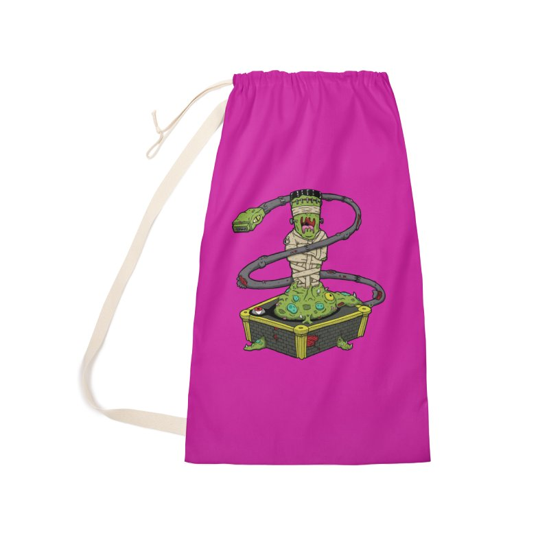 Controller Freaks - Subject 4T4R1 Accessories Laundry Bag Bag by Mystic Soda