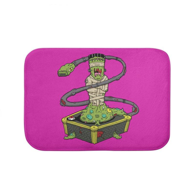 Controller Freaks - The Atari Home Bath Mat by Mystic Soda Shoppe