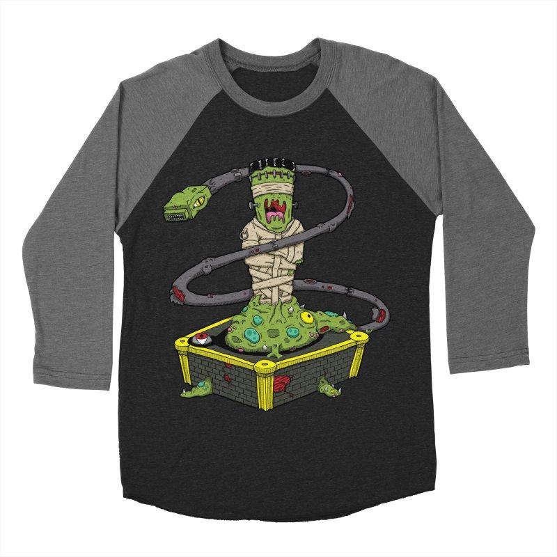 Controller Freak - The Atari Women's Baseball Triblend T-Shirt by Mystic Soda Shoppe