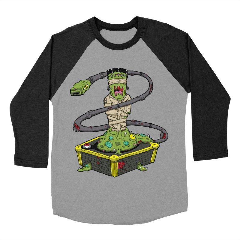 Controller Freak - The Atari Men's Baseball Triblend T-Shirt by Mystic Soda Shoppe