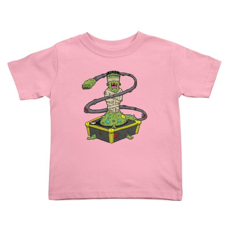 Controller Freak - The Atari Kids Toddler T-Shirt by Mystic Soda Shoppe