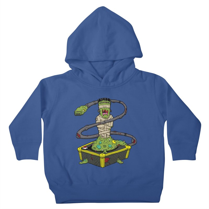 Controller Freak - The Atari Kids Toddler Pullover Hoody by Mystic Soda Shoppe