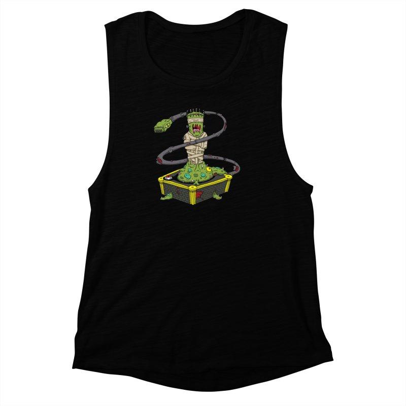 Controller Freak - The Atari Women's Muscle Tank by Mystic Soda Shoppe