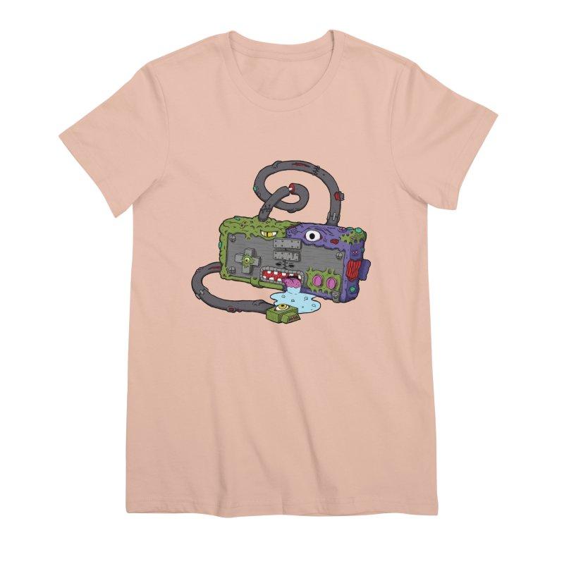 Controller Freaks - Subject N35 Women's Premium T-Shirt by Mystic Soda