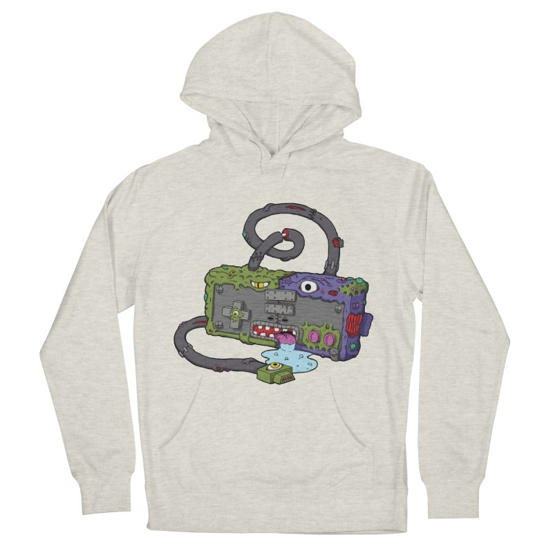 Controller Freaks - The NES Men's French Terry Pullover Hoody by Mystic Soda Shoppe