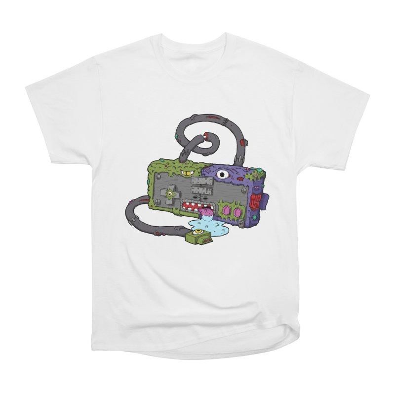 Controller Freaks - The NES Women's Heavyweight Unisex T-Shirt by Mystic Soda Shoppe